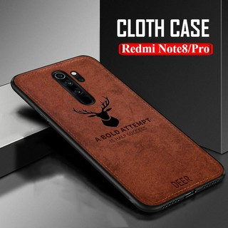 Review Xiaomi Redmi Note 7 Redmi Note 8 6 Pro Redmi Note 5 Pro Plus 3D Deer Patterned Cloth Soft Case Cover