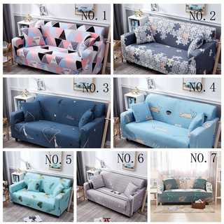 Review Cheap Modern Elastic Universal Sofa Cover Cartoon Style 1/2/3/4 Seat