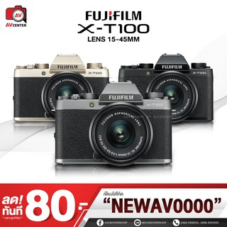 Fujifilm Camera X-T100 kit 15-45 mm. **เมนูไทย  [รับประกัน 1 ปี By AVcentershop]