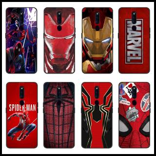Review เคส Cartoon Case OPPO A9 A5 2020 Realme 5 5pro 3 Pro Case The iron Man Spiderman Marvel Soft Cover