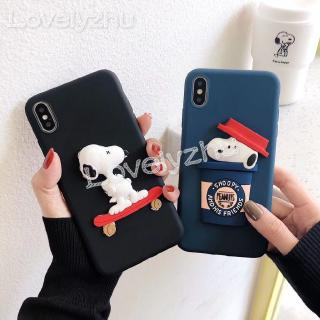 Review 3D Skate Snoopy Soft Case Xiaomi Redmi S2 7A 7 6 6A Note 6 8 Pro Phone Cover