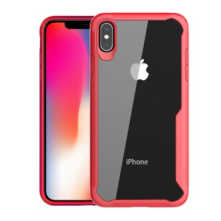 Review เคส iPhone XR 6 6s 7 8 Plus X XS Max 5 SE Case เคสมือถือ Hard PC Back Cover Clear TPU Bumper HD Samsung S10 S9 S8 Note 9