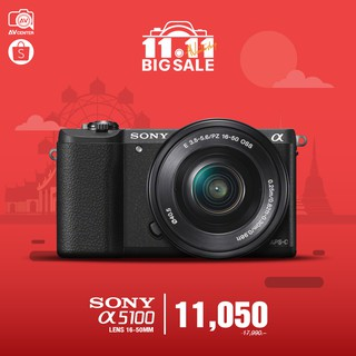 Sony Camera A5100 kit 16-50 mm. **เมนูไทย  [รับประกัน 1 ปี By AVcenter