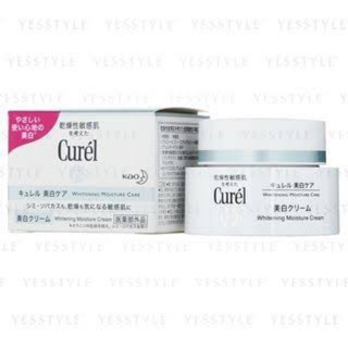 Review (แท้💯)✅ Curel Whitening Moisture Care Cream 40g