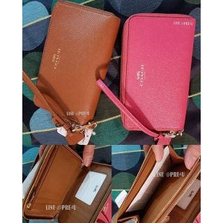 Review DOUBLE ZIP PHONE WALLET STYLE NO. F53937/F57467/F54808