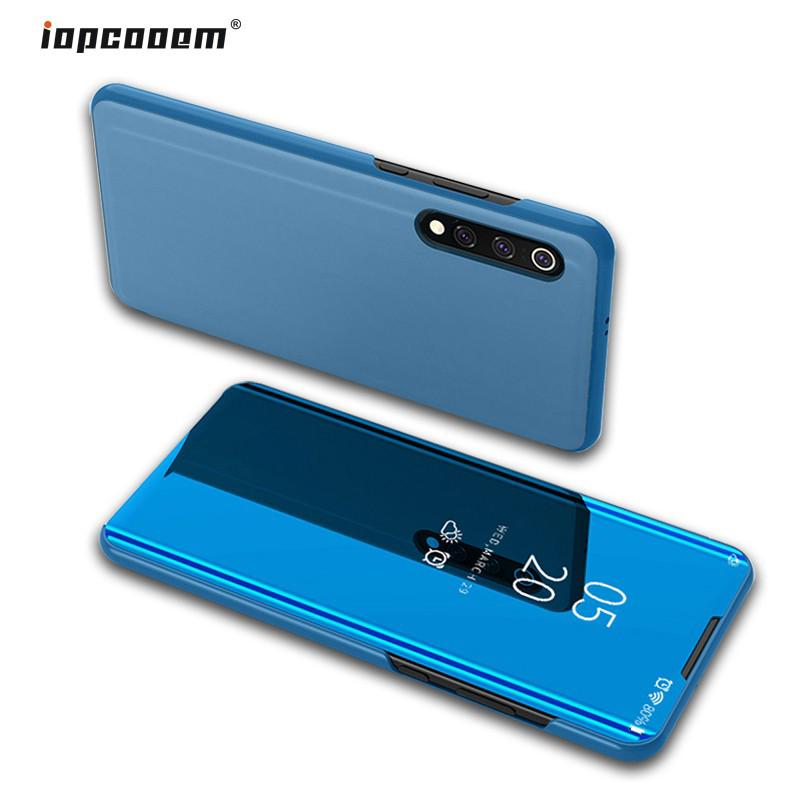 Review Xiaomi Mi 9 Mi9 SE Case Smart Mirror Flip Leather Stand Cover Mi9 Phone Shell