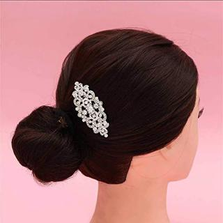 Review Women Accessories Crown Decoration Flower Hair Comb Jewelry Rhinestones Wedding Photography Bridal Headdress
