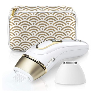 Review Braun Silk·expert Pro 5 PL 5137 Permanent Visible Hair Removal, White and Gold, with Premium Pouch