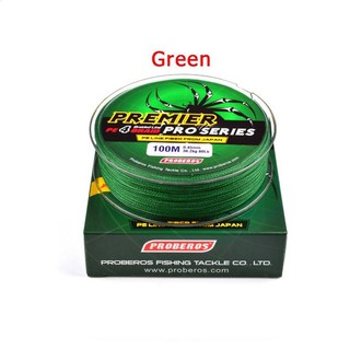 Review 100M Super Strong PE Braided Fishing Line 8LB  Green
