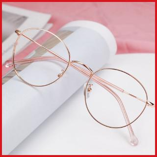 Free Box anti-radiation myopia glasses female student round frame Korean style Internet celebrity plain glasses with degree eye protection male