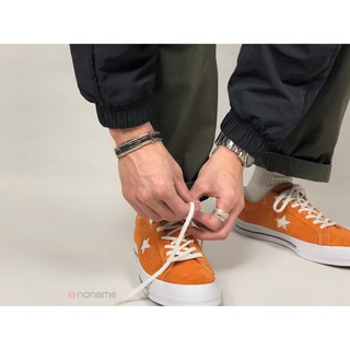 Review converse one star ox suede รองเท้าผ้าใบลําลองสีฟักทอง