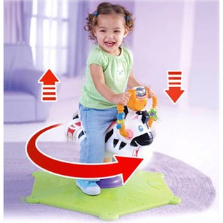 ส่งฟรี!!! Fisher-Price Bounce & Spin Zebra