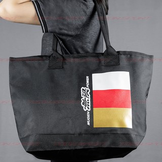MUGEN TRICOLORE TOTE BAG กระเป๋าผ้าม