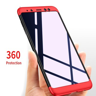 Review เคส samsung a8 Plus S8 S9 Plus Note 9 360 Full Hard Hybrid Plastic Protection case