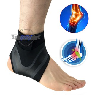 The best Left/Right Feet Sleeve Ankle Support Socks Compression Anti Sprain Heel Protective Wrap