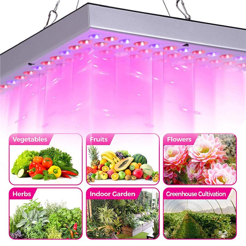 Review NEW 144LED Plant Grow Light Lamp Full Spectrum For Flower Seed Greenhouse 45W