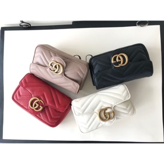Review New Gucci marmont super mini