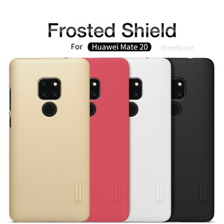 Review Huawei Mate 20 / Mate 20x / Mate 20 Pro - เคส เคสหลัง Nillkin Super Frosted Shield case แท้