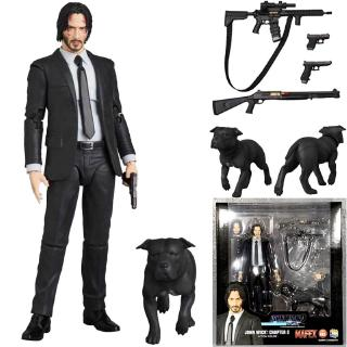 Review New Type Mafex 085 JOHN WICK Chapter 2 Action Figure Collectible Model Toy