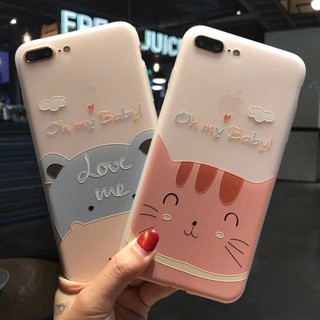 cat เคส iphone6 tpu case iphone7/8 plus soft case iphone6plus/6splus X XR XSMAX เคสซิ