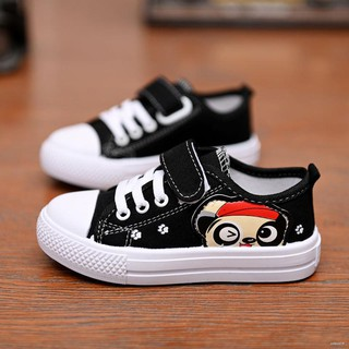 Review Ready StockChildren''s canvas shoes boys and students board girls spring autumn big children breathable low help casua