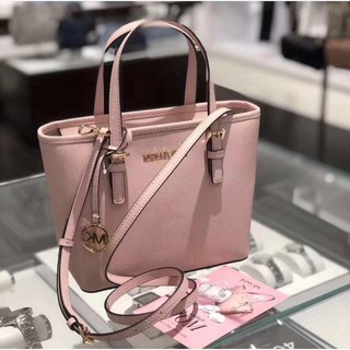 Review MICHAEL KORS Jet Set Carryall Small Blossom