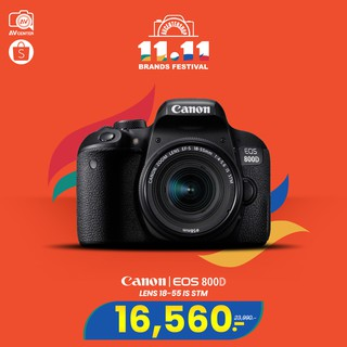 Canon EOS 800D kit 18-55 ​mm. IS STM **เมนูไทย  [รับประกัน 1ปี By AVcenter