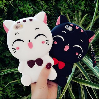 Review Casing VIVO V5 V5S Lite Y51 Y55 Y53 2017 Y85 V9 3D Cat Silicone Phone Case Cover