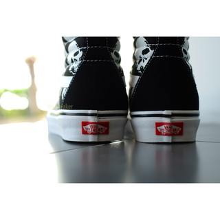 Image # 4 of Review 【VANS】SK8 (Hi) - Skulls/Black/True White การันตีของแท้ 100% by www.WeSneaker.com : VANS Authorized Online Dealer
