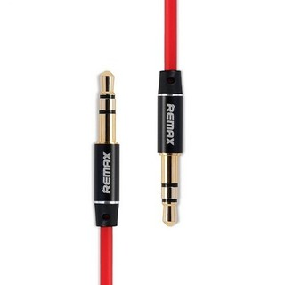 Remax Aux Audio 3.5 2000mm Cable สายยาว 2เมตร (red)#298