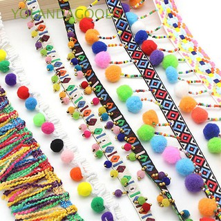 Review 1yard Dress Sewing DIY Craft Pompom Fabric Tassel Lace Trim