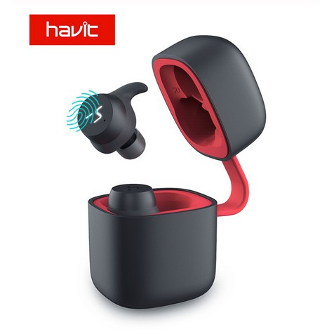 Image # 1 of Review 2019 NEW Havit G1pro Bluetooth Earphone Wireless TWS Sport Headset IPX6 Touch Screen Panel Earbuds With Microphone Bilat