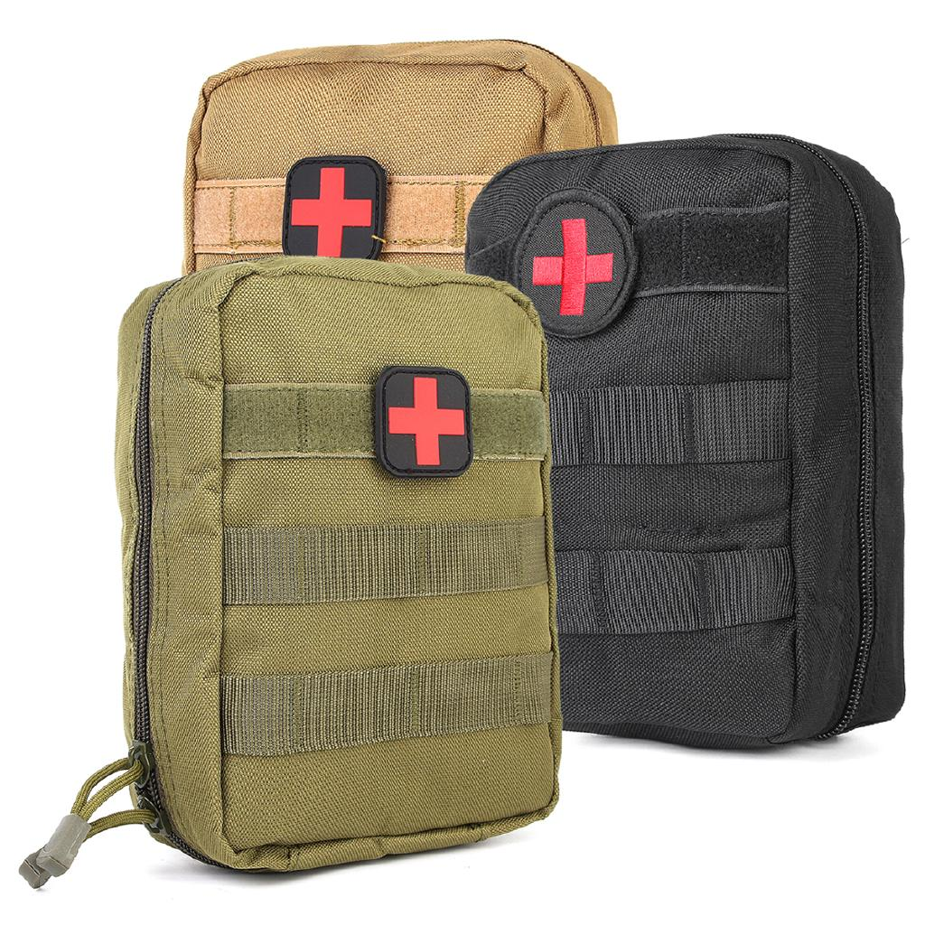 The best Durable First Aid Kit Tactical Survival Kit Molle Rip-Away EMT Pouch Bag Medical