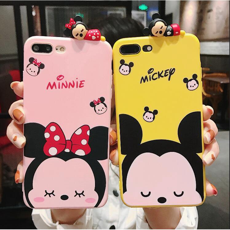 Review VIVO Y71 Y85 Y83 Y79 Y75 Y67 Y66 Cute Mickey and Minne Pattern เคส tpu เคสซิลิโคน เคสไอโฟน tpu case