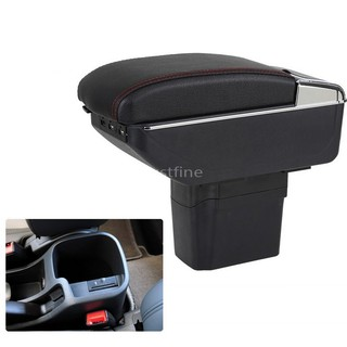 The best ที่พักแขน ที่วางแขน คอนโซลกลางรถยนต์ For Chevrolet Cruze 09-14 Armrests box central Store content box with cup holder