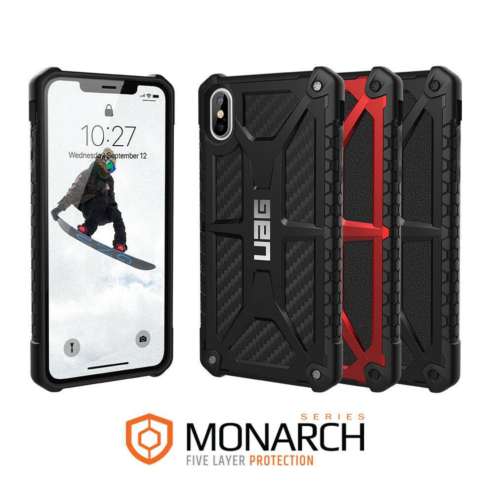 Review เคส UAG iPhone X,XR,XS,XS Max,6,6s,7,8,6Plus,7Plus,8Plus,6SPLUS เคสกันกระแทก UAG case Monarch carbon fiber Casing