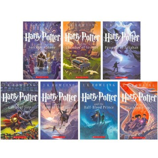 Review 【7 Books Set】Harry Potter The Complete Series English Novel Fiction Children Adult Story Book
