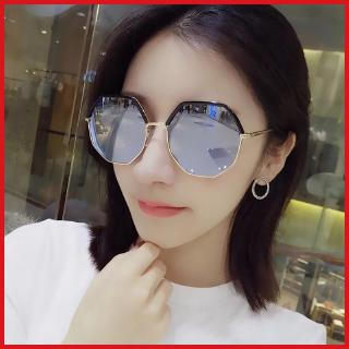 New sunglasses women's Korean style fashionable UV-proof polarized sun glasses round face street shot fashion ins Internet celebrity glasses women