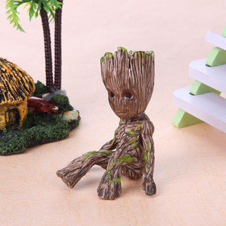 Review ฟิกเกอร์ I M Groot PVC Action Figure Galaxy