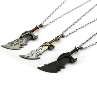 Review God of War 4 Kratos Chain Blade Blade of Chaos Pendant Necklace Tricolor
