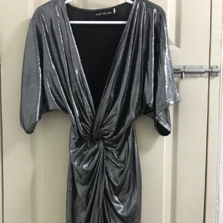 Review Metallic Dress (brand: rosethelabel)