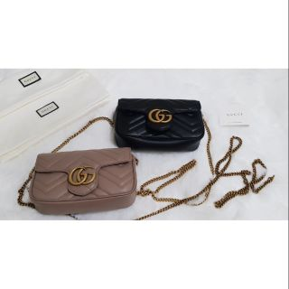Review Gucci marmont super mini bag