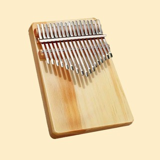 17 keys Kalimba Thumb Piano Acoustic Finger Piano Music Instrument