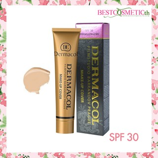 Review Dermacol Filmstudio Barrandov Prague Make-Up Cover SPF30