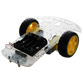 Review ใหม่ 2 WD Smart Motor Robot Car Chassis แบตเตอรี่สำหรับ Arduino