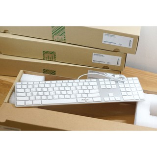 Apple USB Aluminium keyboard with Numeric Keypad Thai/English แท้ๆ ของใหม่จากโ