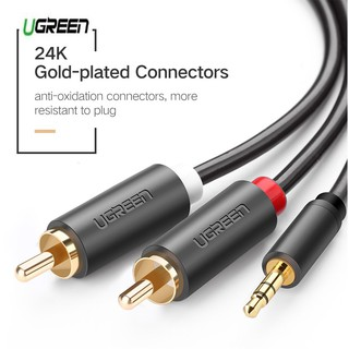 UGreen Audio Cable 3.5mm to RCA สายสัญญาณ Stereo 3.5 to rca