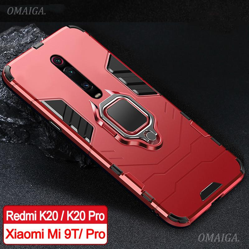 Review For Xiaomi Redmi K20 Pro Xiaomi Mi 9T Pro Stand Holder Car Ring Phone Case ขาตั้งติดรถยนต์