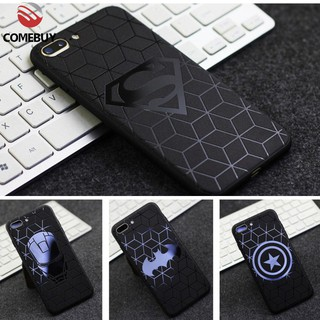 Review Case Vivo Y91 Y91i Y53 Y93 Y95 Y17 Y12 Y15 Y66 V5 V5S V9 S1 OPPO A3S A5S A7 F11 Pro Super Hero Batman Matte Men Casing