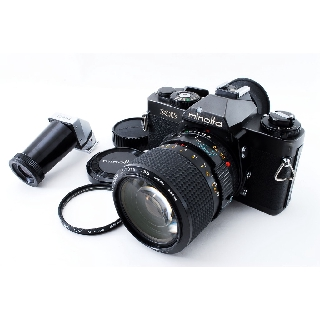 Used【Excellent++++】MINOLTA XD SLR w/ MD 35-70mm Lens, Angle Finder from JAPAN - 5030